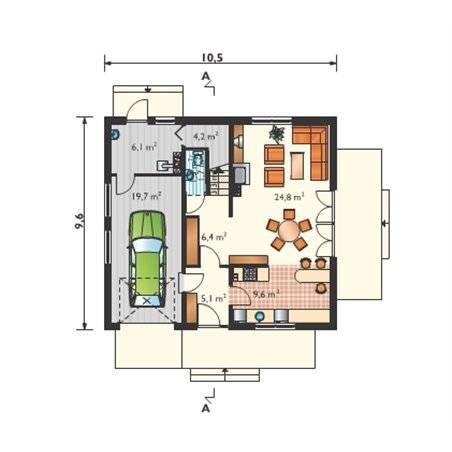 Proiecte Case - Proiect Casă de Lux, cu Mansardă, 201 mp, 4 Camere, 2 Băi, ID 1990