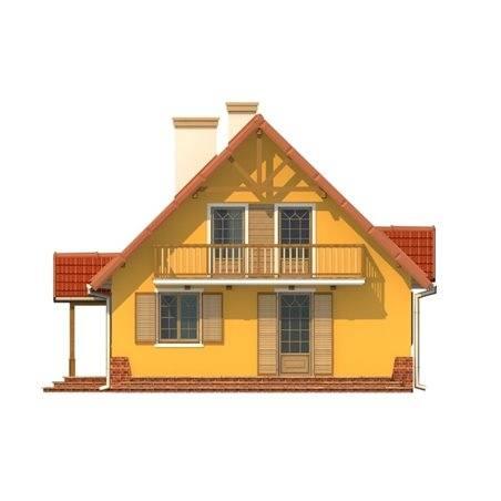Proiecte Case - Proiect Casă Mică, cu Mansardă, 142 mp, 5 Camere, 2 Băi, ID 1949