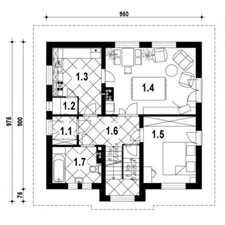 Proiecte Case - Proiect Casă de Vis, cu Mansardă, 171 mp, 6 Camere, 2 Băi, ID 5767