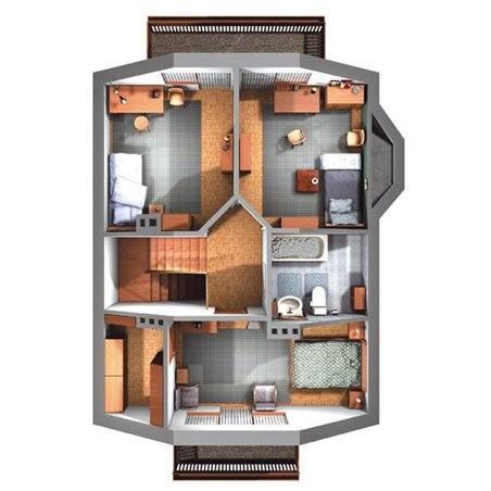 Proiecte Case - Proiect Casă Mică, cu Mansardă, 142 mp, 4 Camere, 2 Băi, ID 5719
