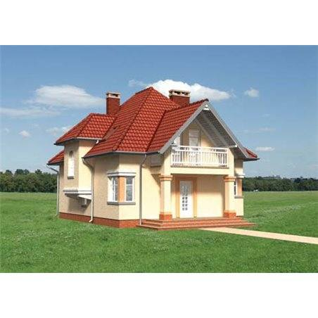 Proiecte Case - Proiect Casă de Vis, cu Mansardă, 182 mp, 6 Camere, 2 Băi, ID 5689