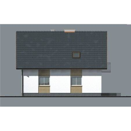 Proiecte Case - Proiect Casă de Vis, cu Mansardă, 185 mp, 6 Camere, 3 Băi, ID 6505