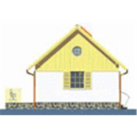 Proiecte Case - Proiect Casă Mică, cu Mansardă, 130 mp, 2 Camere, 2 Băi, ID 5553