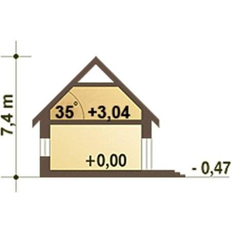 Proiecte Case - Proiect Casă Mică, cu Mansardă, 138 mp, 5 Camere, 2 Băi, ID 5476
