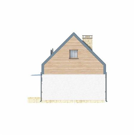 Proiecte Case - Proiect Casă Mică, cu Mansardă, 133 mp, 4 Camere, 1 Băi, ID 6468