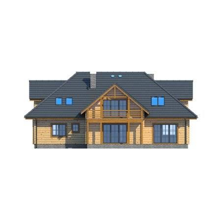 Proiecte Case - Proiect Casă de Lux, cu Mansardă, 348 mp, 7 Camere, 7 Băi, ID 5263