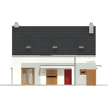 Proiecte Case - Proiect Casă Mică, cu Mansardă, 149 mp, 6 Camere, 2 Băi, ID 5216