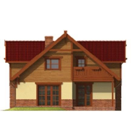 Proiecte Case - Proiect Casă de Lux, cu Mansardă, 200 mp, 6 Camere, 3 Băi, ID 5189