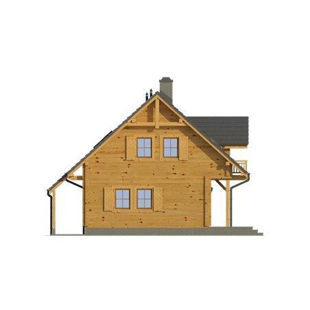 Proiecte Case - Proiect Casă de Lux, cu Mansardă, 201 mp, 4 Camere, 2 Băi, ID 5188