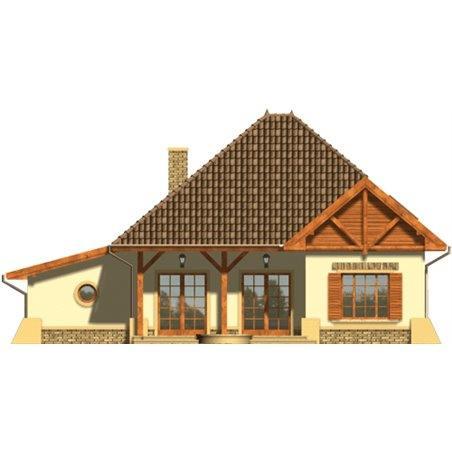 Proiecte Case - Proiect Casă Mică, cu Mansardă, 141 mp, 5 Camere, 3 Băi, ID 5127
