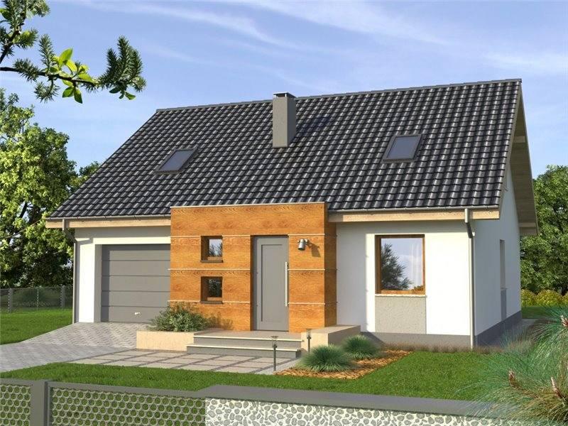 Proiecte Case - Proiect Casă de Lux, cu Mansardă, 201 mp, 4 Camere, 2 Băi, ID 5104