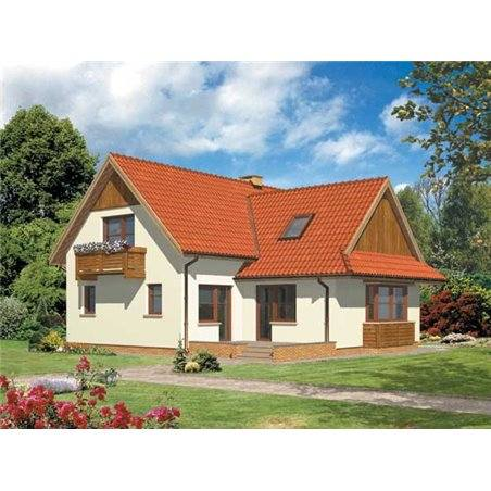 Proiecte Case - Proiect Casă de Lux, cu Mansardă, 200 mp, 4 Camere, 3 Băi, ID 4949
