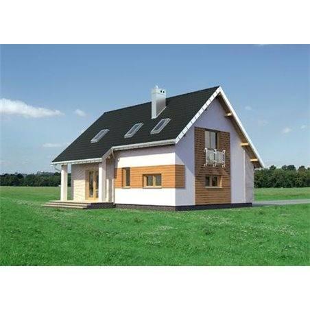 Proiecte Case - Proiect Casă de Vis, cu Mansardă, 175 mp, 4 Camere, 3 Băi, ID 6434