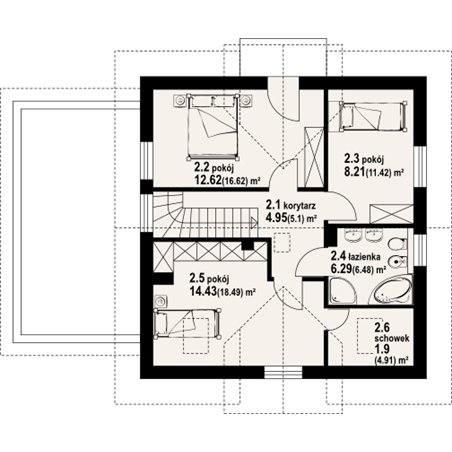 Proiect cas de lux cu etaj 200 mp 4 camere 2 b i id 4919 for Proiect casa 100 mp fara etaj