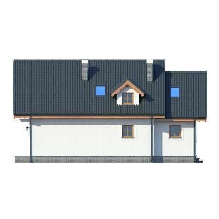 Proiecte Case - Proiect Casă de Vis, cu Mansardă, 187 mp, 6 Camere, 2 Băi, ID 4885
