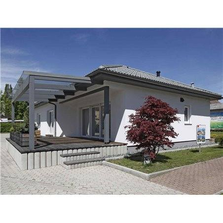 Proiecte Case - Proiect Casă Mică, Parter, 130 mp, 4 Camere, 2 Băi, ID 4868