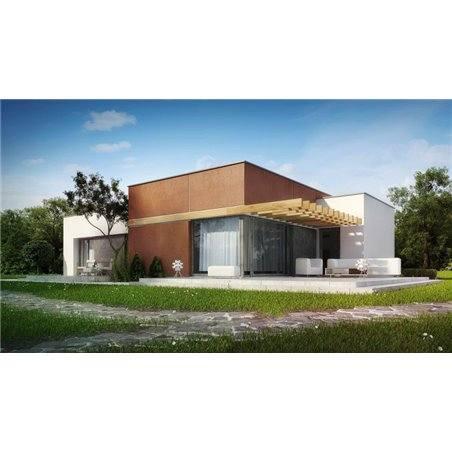 Proiecte Case - Proiect Casă de Vis, Parter, 196 mp, 5 Camere, 4 Băi, ID 4838