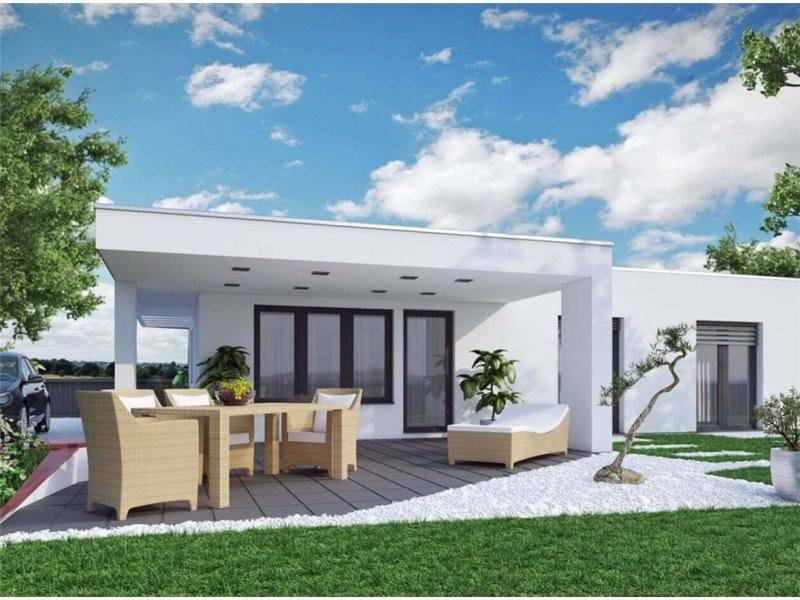 Proiecte Case - Proiect Casă Mică, Parter, 130 mp, 3 Camere, 2 Băi, ID 4790