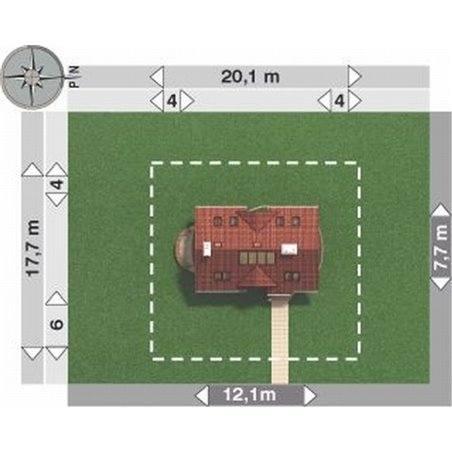 Proiecte Case - Proiect Casă de Vis, cu Mansardă, 172 mp, 4 Camere, 3 Băi, ID 4559