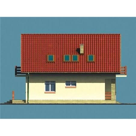 Proiecte Case - Proiect Casă de Vis, cu Mansardă, 176 mp, 6 Camere, 2 Băi, ID 4546