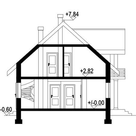 Proiecte Case - Proiect Casă de Vis, cu Mansardă, 178 mp, 6 Camere, 3 Băi, ID 4461