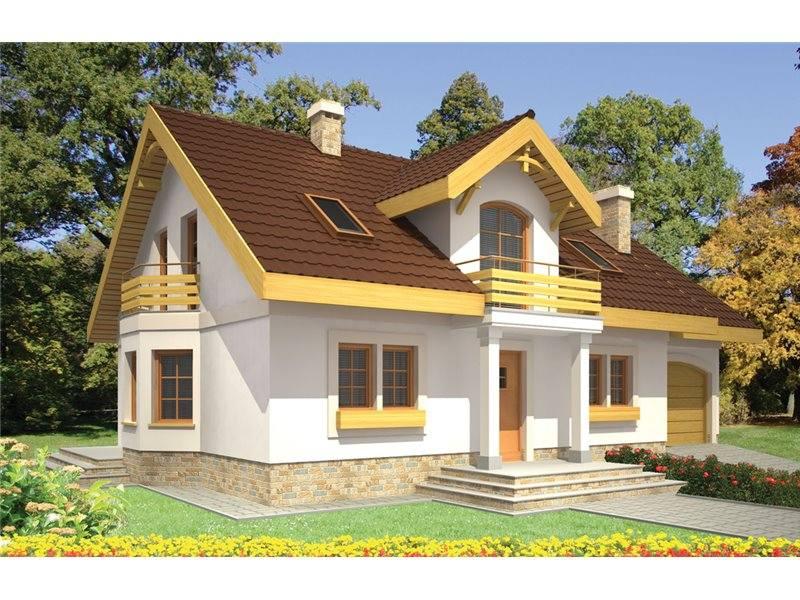 Proiect Casă Mică Parter 140 Mp 2 Camere 1 Băi Id 4458