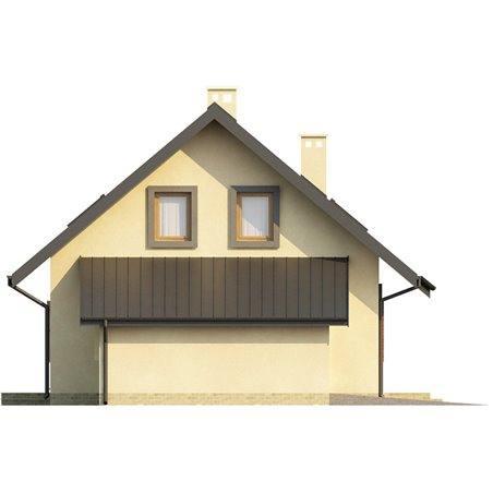 Proiecte Case - Proiect Casă Mică, cu Mansardă, 133 mp, 4 Camere, 3 Băi, ID 4412