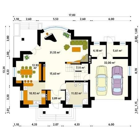Proiecte Case - Proiect Casă de Lux, cu Beci, 467 mp, 5 Camere, 2 Băi, ID 4316