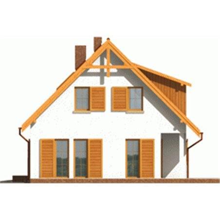 Proiecte Case - Proiect Casă de Vis, cu Mansardă, 188 mp, 5 Camere, 2 Băi, ID 4256