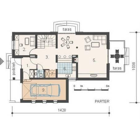 Proiect Casă Mică Cu Mansardă 121 Mp 2 Camere 1 Băi Id 6372