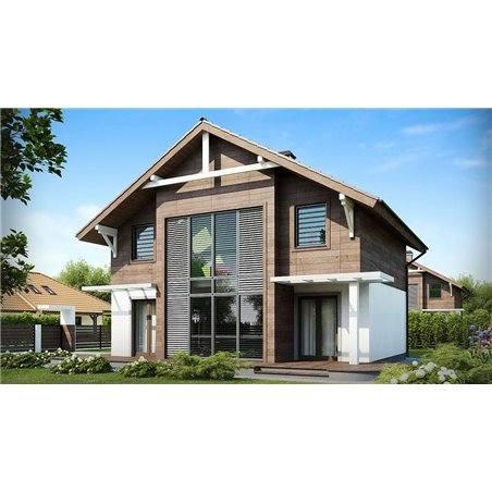 Proiecte Case - Proiect Casă de Vis, cu Mansardă, 152 mp, 4 Camere, 3 Băi, ID 4209