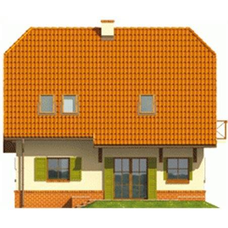 Proiecte Case - Proiect Casă Mică, cu Mansardă, 142 mp, 5 Camere, 2 Băi, ID 4170