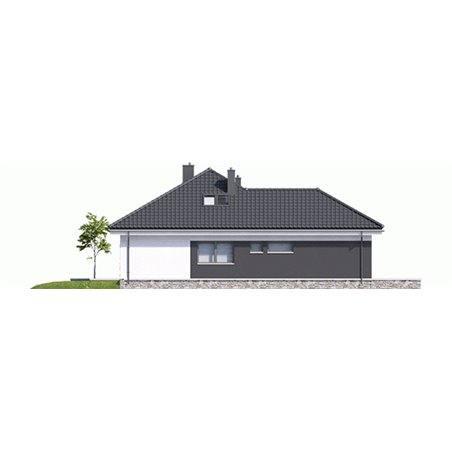 Proiecte Case - Proiect Casă Mică, cu Mansardă, 144 mp, 5 Camere, 3 Băi, ID 4169