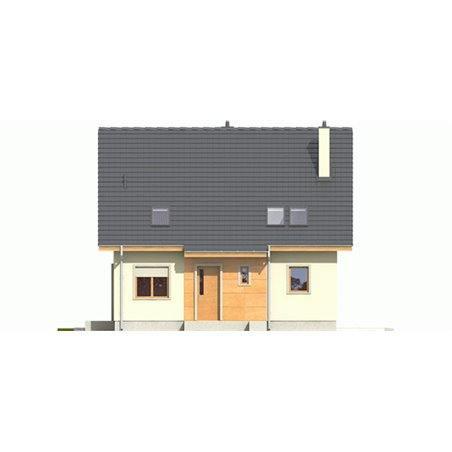 Proiecte Case - Proiect Casă de Vis, cu Mansardă, 166 mp, 6 Camere, 2 Băi, ID 4121