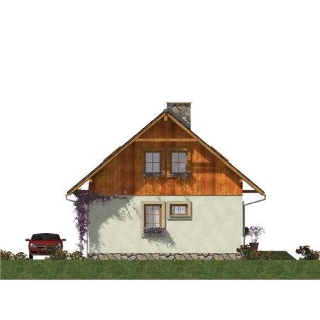 Proiecte Case - Proiect Casă de Vis, cu Mansardă, 150 mp, 6 Camere, 2 Băi, ID 4112