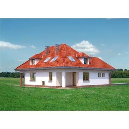 Proiecte Case - Proiect Casă Mică, cu Mansardă, 138 mp, 5 Camere, 2 Băi, ID 4099