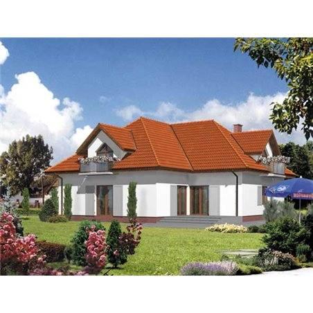Proiecte Case - Proiect Casă de Vis, cu Mansardă, 168 mp, 4 Camere, 3 Băi, ID 4067