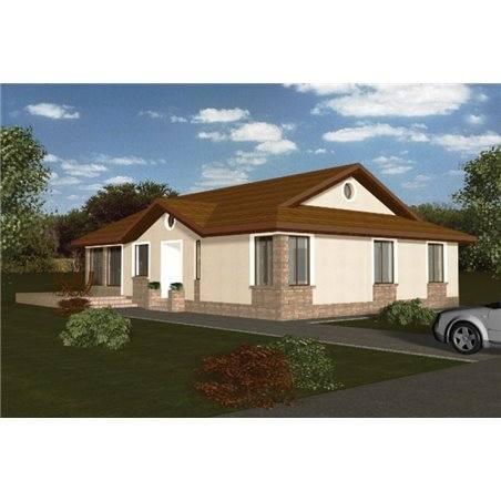 Proiecte Case - Proiect Casă de Vis, cu Mansardă, 163 mp, 6 Camere, 3 Băi, ID 7218