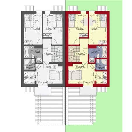Proiecte Case - Proiect Casă de Vis, cu Mansardă, 170 mp, 4 Camere, 3 Băi, ID 3934