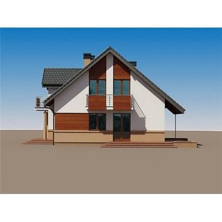 Proiecte Case - Proiect Casă de Vis, cu Mansardă, 167 mp, 6 Camere, 3 Băi, ID 6337