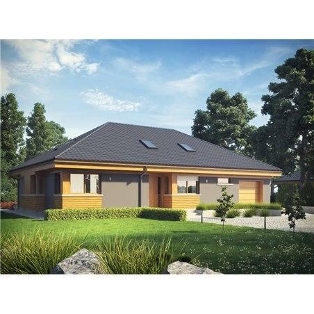 Proiecte Case - Proiect Casă de Vis, Parter, 199 mp, 4 Camere, 2 Băi, ID 3852