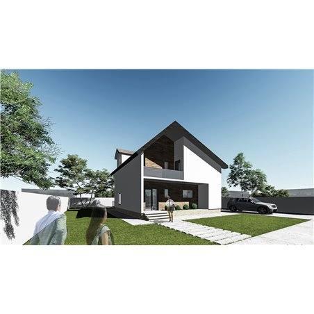 Proiecte Case - Proiect Casă de Vis, cu Mansardă, 180 mp, 3 Camere, 3 Băi, ID 7198