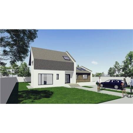 Proiecte Case - Proiect Casă de Vis, cu Mansardă, 199 mp, 5 Camere, 4 Băi, ID 7197