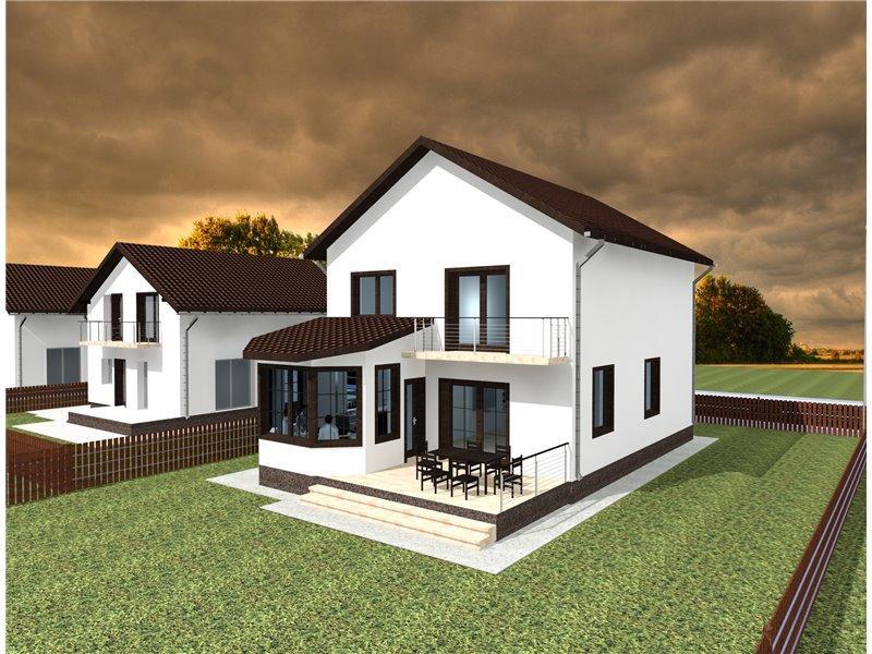 Proiect casa for Case cu etaj