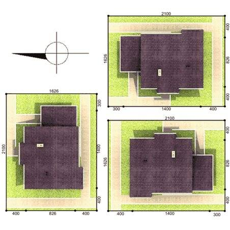 Proiecte Case - Proiect Casă de Lux, cu Mansardă, 202 mp, 6 Camere, 3 Băi, ID 6319