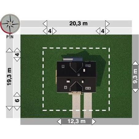 Proiecte Case - Proiect Casă de Vis, cu Mansardă, 187 mp, 6 Camere, 3 Băi, ID 6220