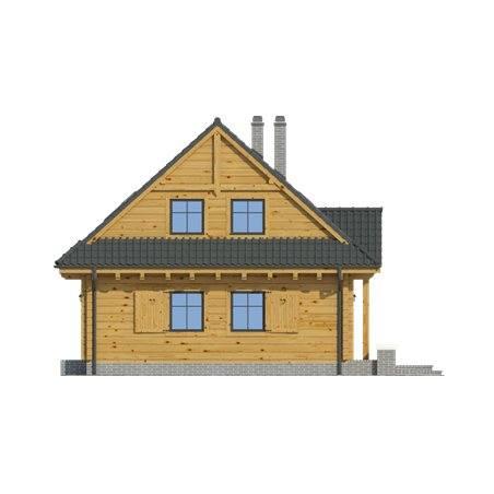 Proiecte Case - Proiect Casă de Vis, cu Mansardă, 181 mp, 6 Camere, 2 Băi, ID 6168