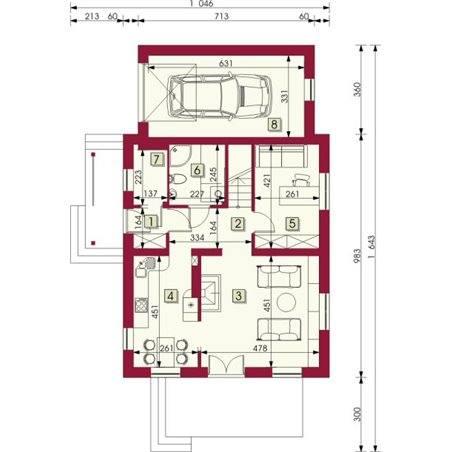 Proiecte Case - Proiect Casă Mică, cu Mansardă, 138 mp, 5 Camere, 2 Băi, ID 6073
