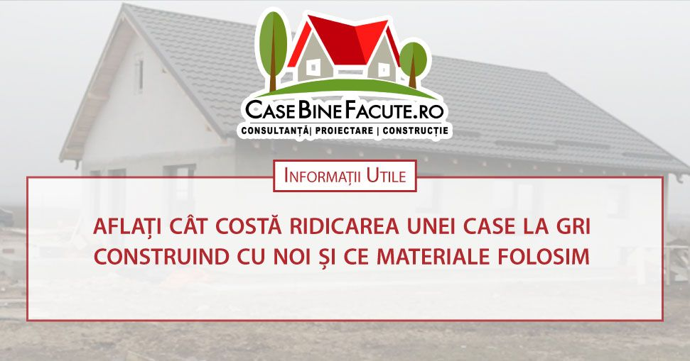 Pre construc ie cas la gri for Cat costa construirea unei piscine